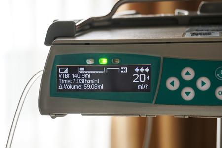 IV tube monitor machine equipment
