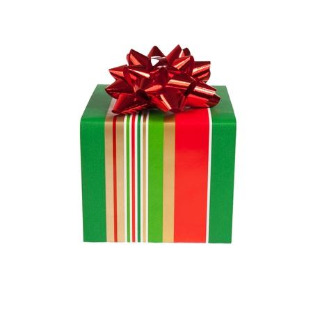 bright gift box isolated on white background Stock Photo - 11311200
