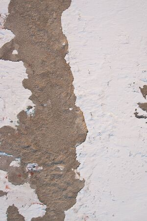 old falled plaster on the wall close up background Stock Photo - 17471456