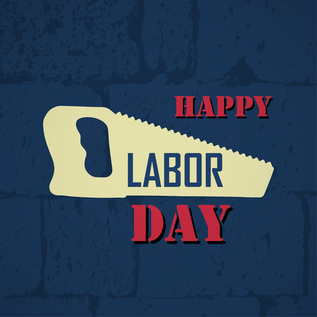 Happy Labor Day Banner. Labor Day Vector Background