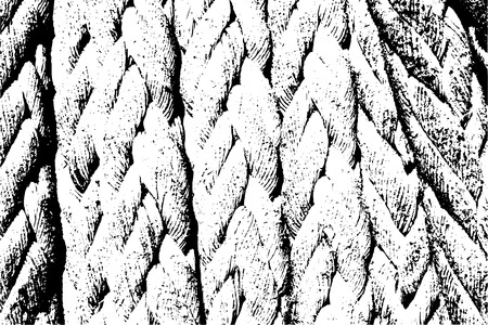 spiral cord: Distressed halftone grunge texture - rough rope background