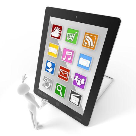 Mobile application Stock Photo - 10951442