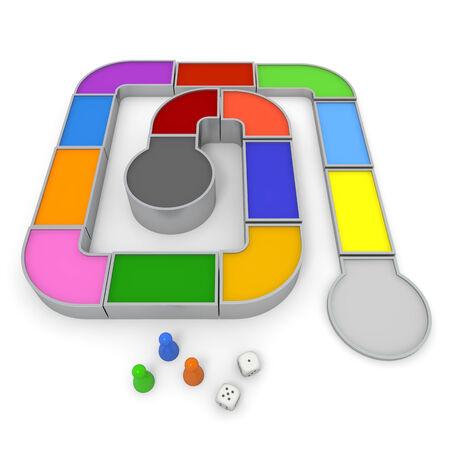 Board game Stok Fotoğraf - 35817218