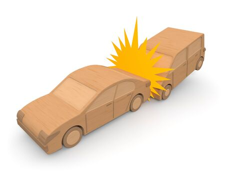 Traffic accident  car Stock Photo