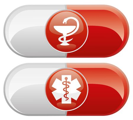 Vector  Medical icons Stock Vector - 21609665