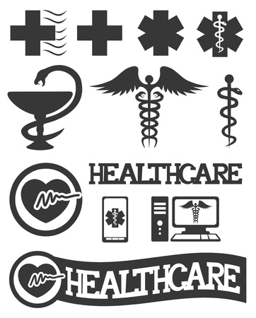Vector  12 medical icons   Vector