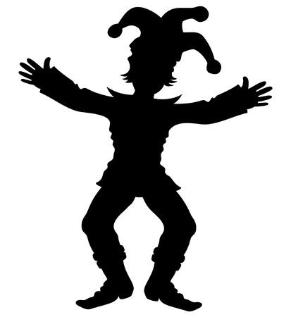 giullare: Vector Jester Vettoriali