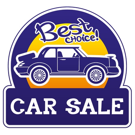 Vector  Car sale   Vector