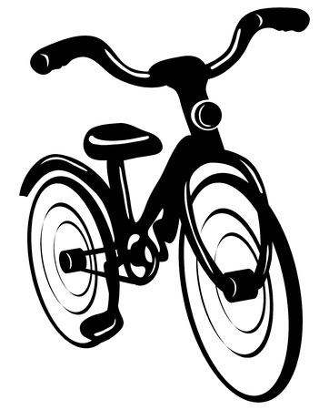 Vector  Bicycle isolated