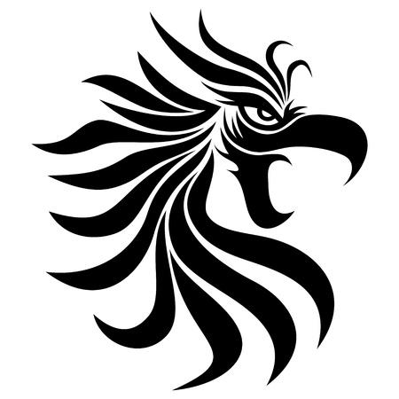 eagle tattoo: Vector  Tattoo  Eagle   Illustration