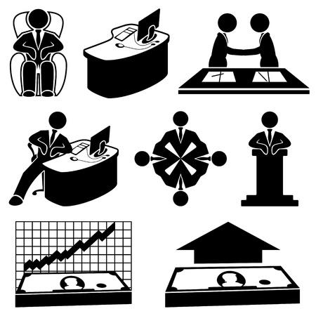 rewarding: Vector  Business icons