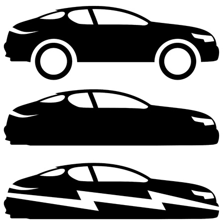 Vector  3 icons  Cars Stock Vector - 21609753