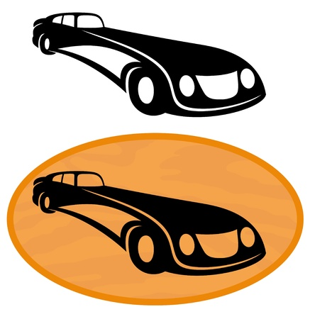 Vector  2 icons  Car Stock Vector - 21609757