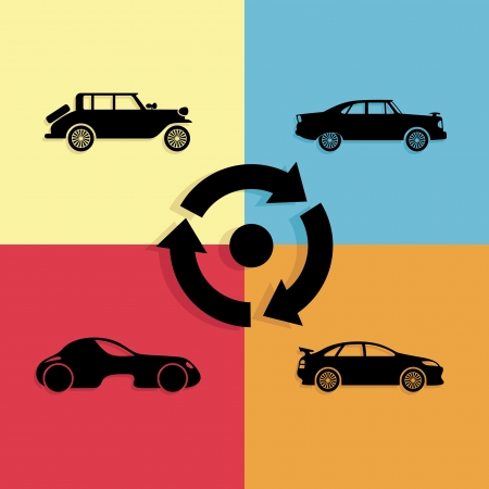 Vector  Car poster   Vector
