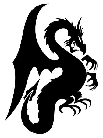 Vector  Dragon Фото со стока - 21633404