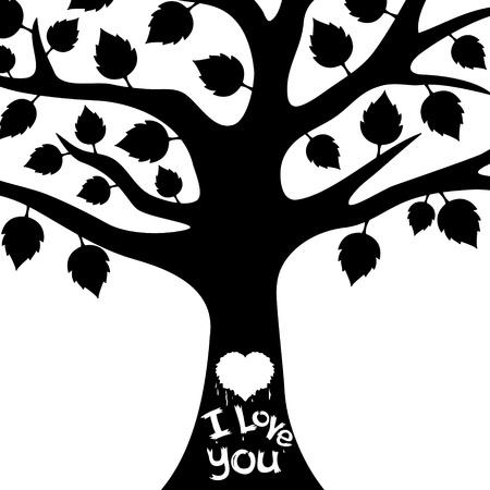 genealogical: Vector Tree   Illustration