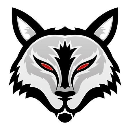 wolf head: Vector  Wolf
