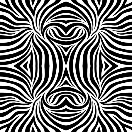 arte africano: Vector Zebra background Vectores