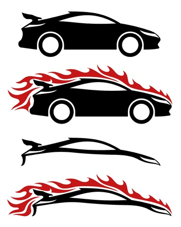 Vector  4 icons  Cars