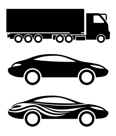 Vector  Transportation icons   Stock Vector - 21633963