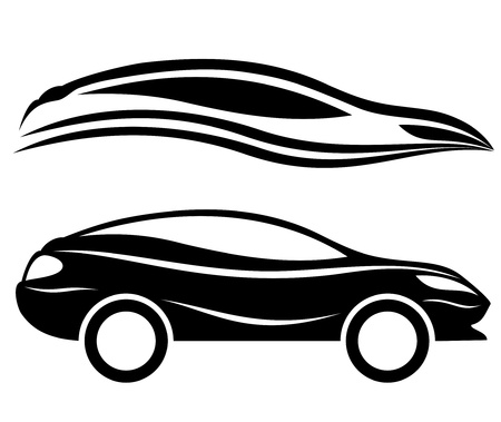 Vector  2 icons  Cars   Stock Vector - 21633976