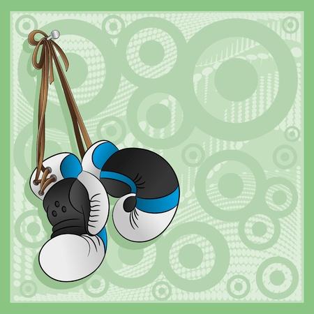 guantes boxeo: Guantes de boxeo del vector