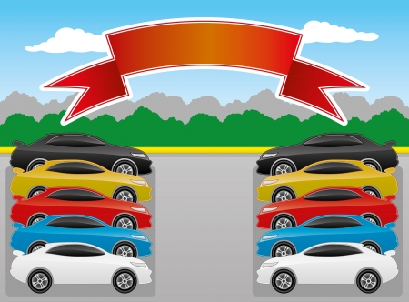 illustration  Cars   Vector