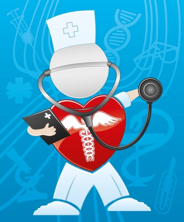 Doctor   Stock Vector - 21669233