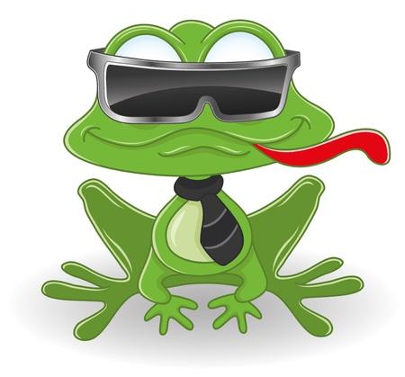 caricaturas de ranas: Rana Vectores
