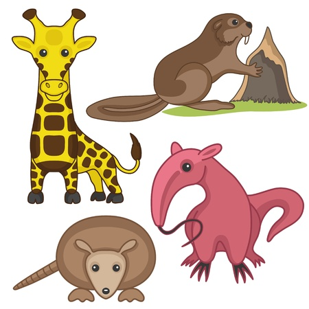 signs  Animals  Vector