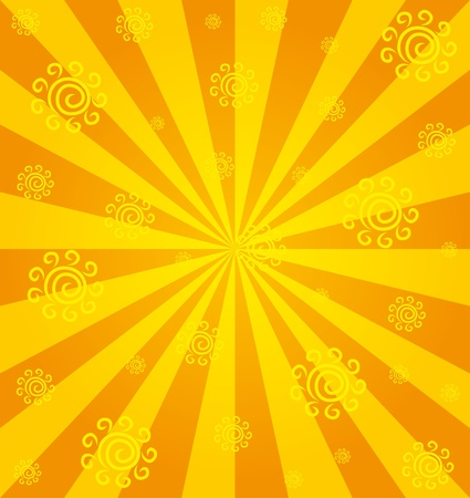Background  Sunny   Vector
