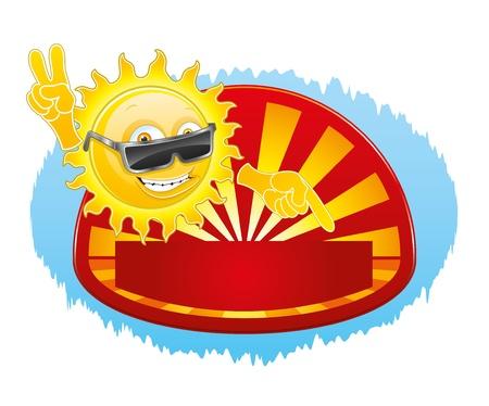 sun glasses: Cool sun