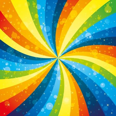 rainbow background: Rainbow background