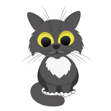 Funny cat Stock Vector - 22603246