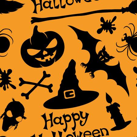 citrouille halloween: Halloween background