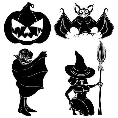 Halloween set Stock Vector - 23258630