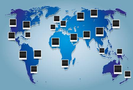 World map Stock Vector - 25272794
