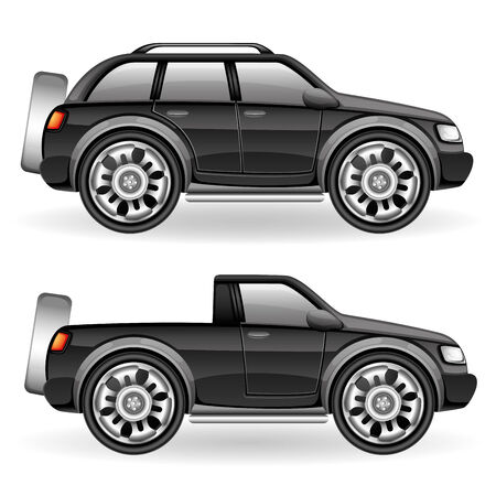 Suv car  Vector