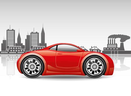 miles: Red car