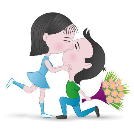 coppia romantica: Coppia romantica