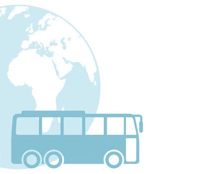 coach bus: Bus Transport  Illustration