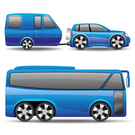 motor coach: Transportation icons