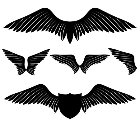 tatouage ange: Coulisses Illustration