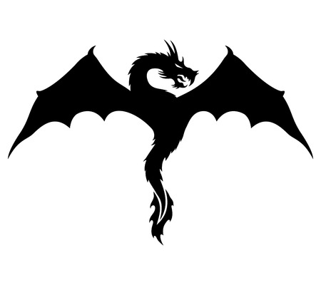 Dragon signs  Vector