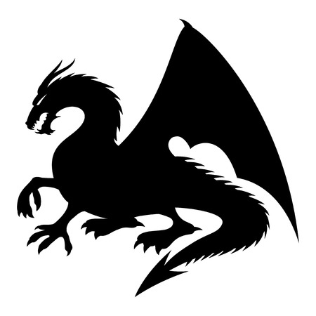 Dragon sign Vector