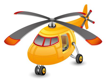 ヘリコプター  イラスト・ベクター素材