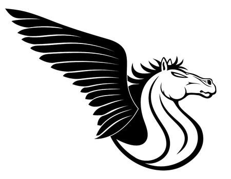 Vector sign  Pegasus  Vector