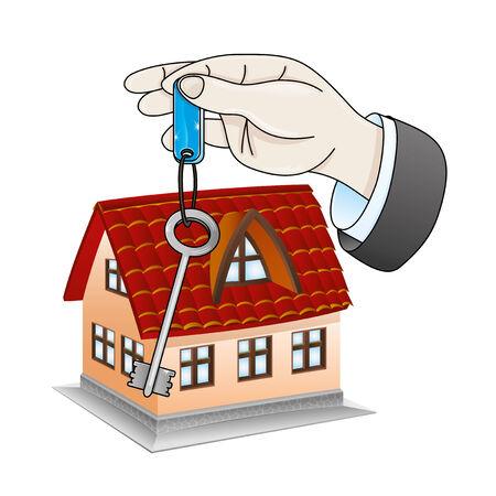 housewarming: New house   Illustration