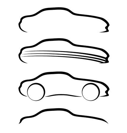 Car signs  向量圖像