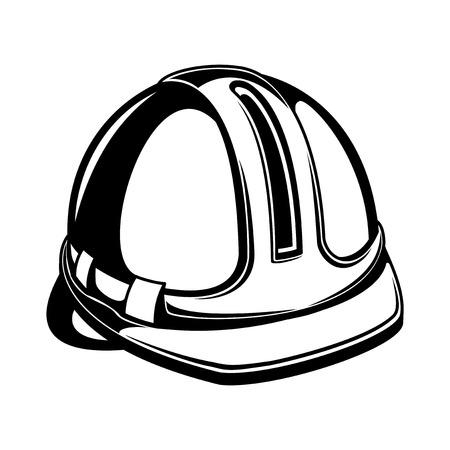 bauarbeiterhelm: Vektor-Zeichen Bauarbeiterhelm
